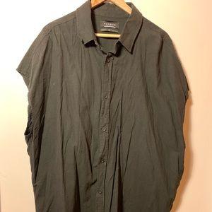 ❗️SALE❗️Pacsun Cut Sleeve Dressing Shirt